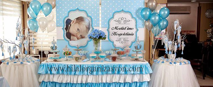 bebek mevlidi organizasyonu