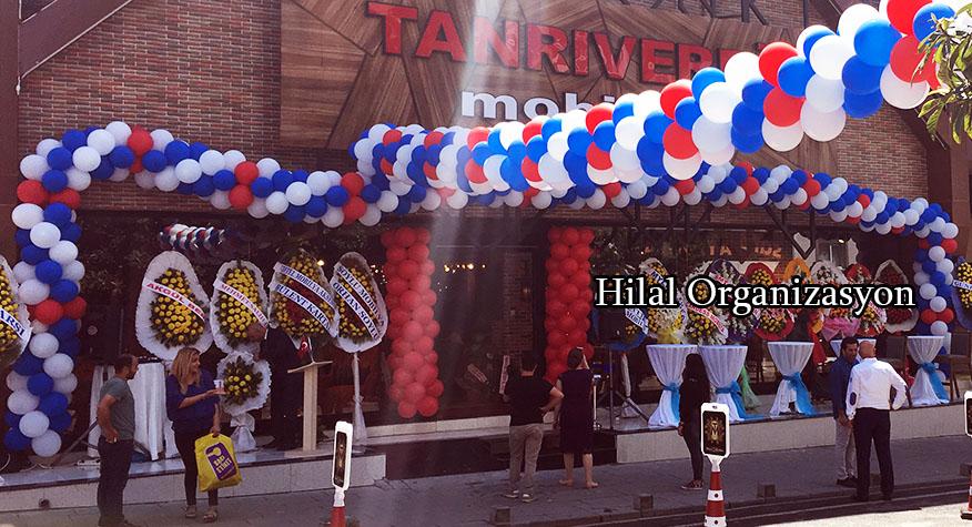 dükkan ve işyeri açılış organizasyonu