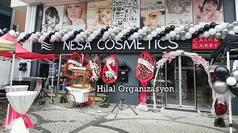 kozmetik dükkanı açılış organizasyonu