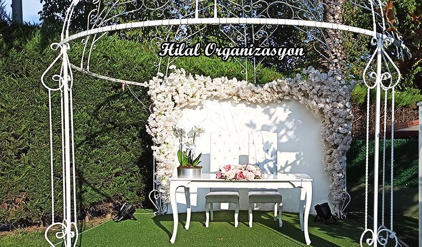gelin masası düğün organizasyonu