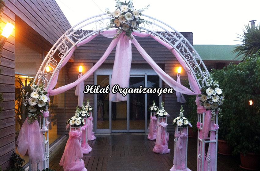 gelin yolu süsleme düğün organizasyonu