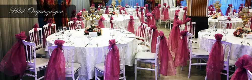 İstanbul masa sandalye süsleme ve giydirme hizmeti