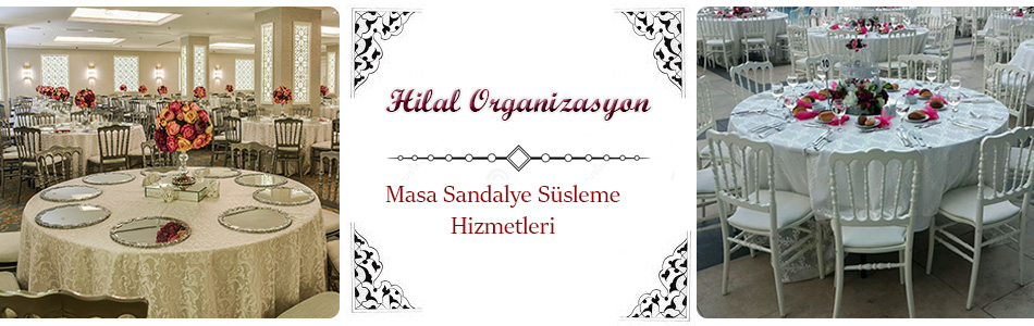 islami düğün organizasyonu