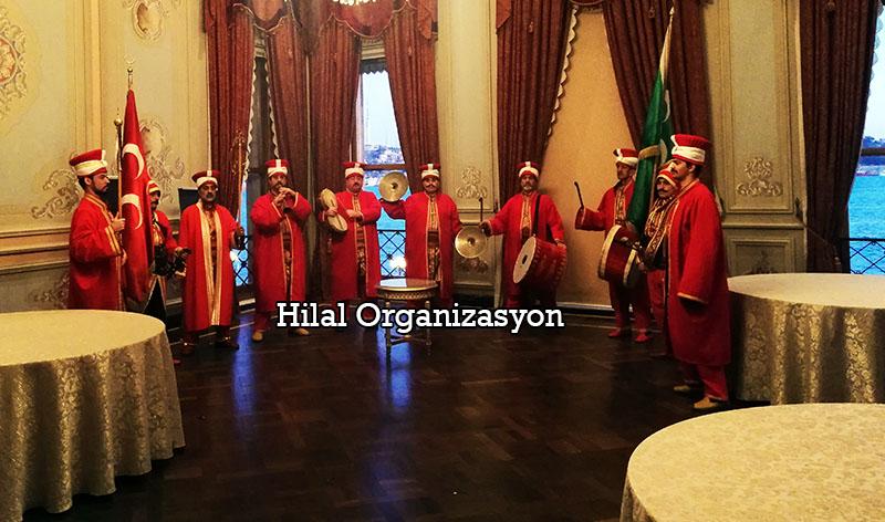 mehteran takımı etkinliği İstanbul