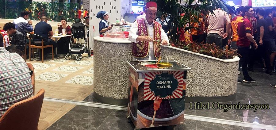 Osmanlı macuncusu kiralama servisi