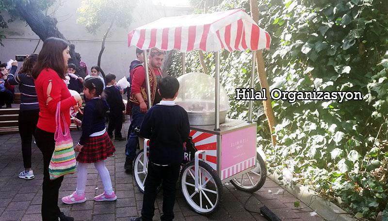 pamuk şeker arabası İstanbul fiyatı