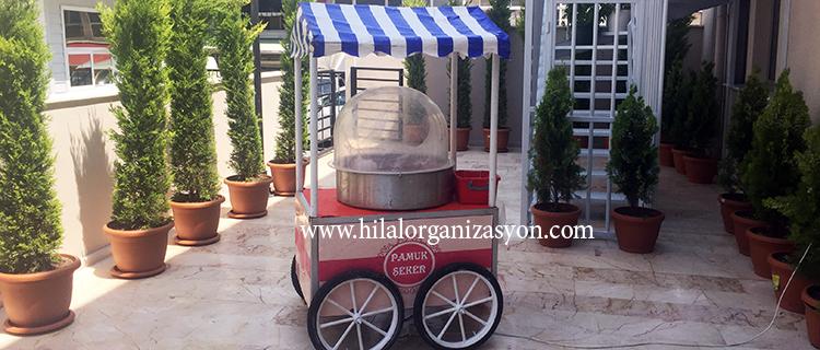 pamuk şeker arabası ücreti ve fiyatı