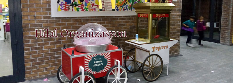 popcorn arabası kiralama hizmetleri