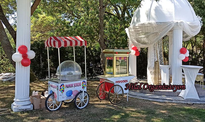 sünnet düğünü popcorn arabası kiralama