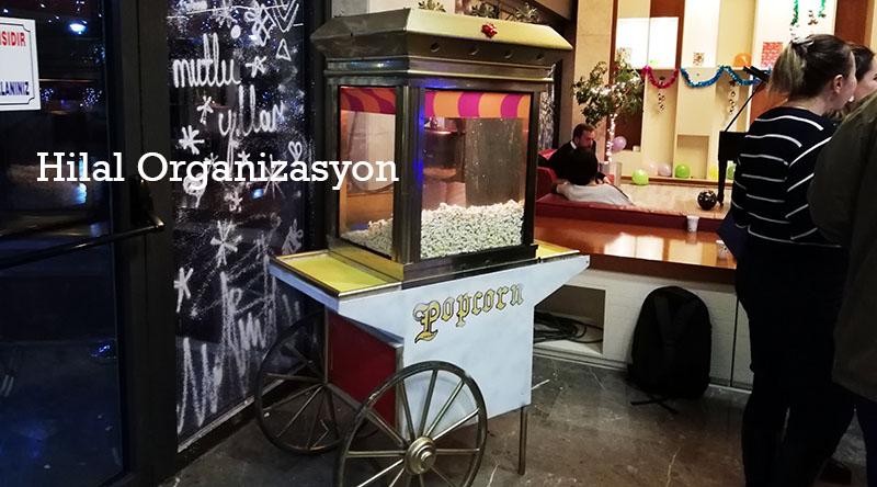 kiralık popcorn arabaları