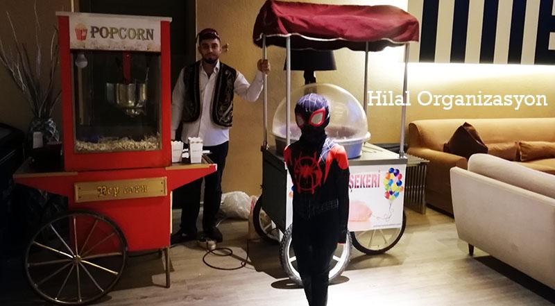 popcorn kiralama ikram arabaları