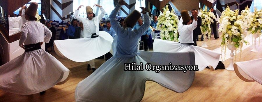 semazenler ile dini düğün