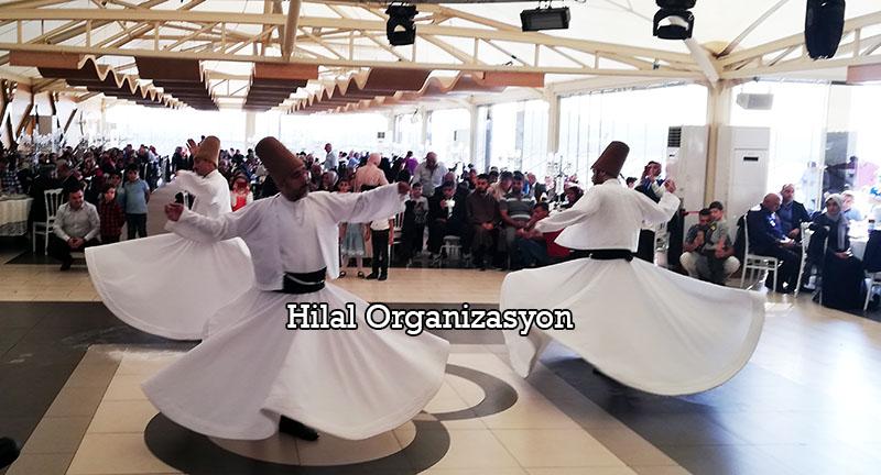 semazenli düğün organizasyonu