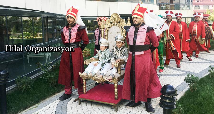sünnet organizasyonu mehter takımı ve yeniçeri askerleri