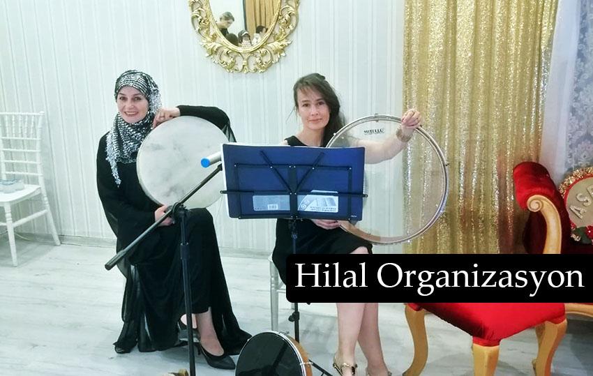 bayan ilahi grubu organizasyonu