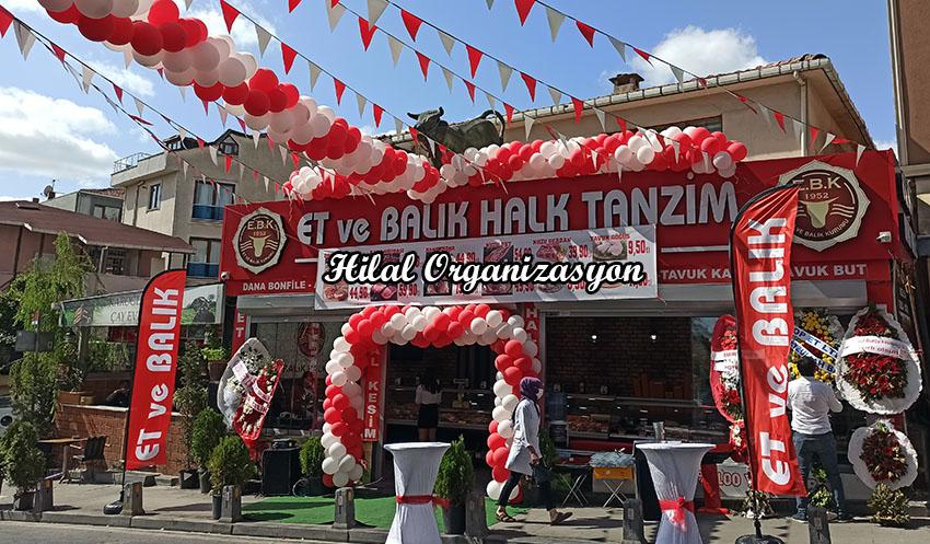 dükkan açılış balon süsleme