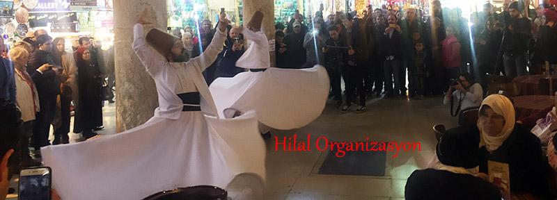 Diyarbakır semazen ekibi gösterisi
