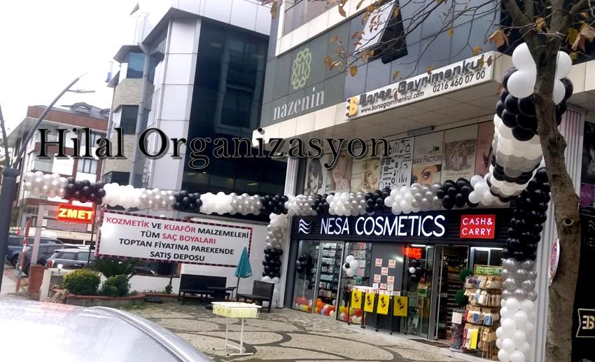kozmetik mağazası açılış organizasyonu