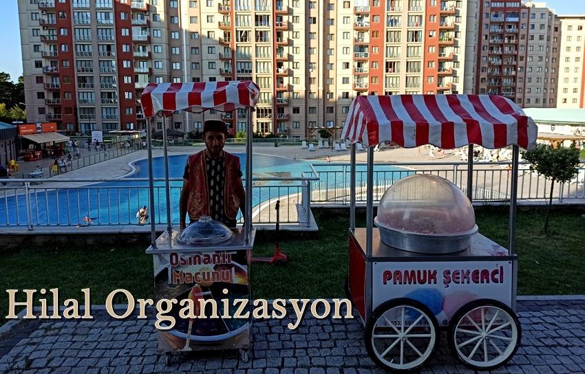 pamuk şeker arabaları İstanbul fiyatları