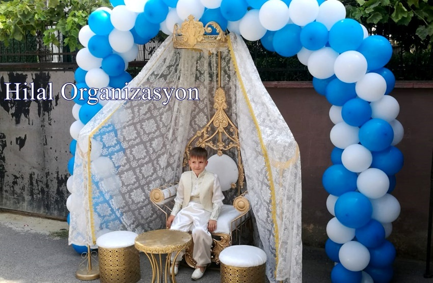 sünnet düğünü balon süslemeleri