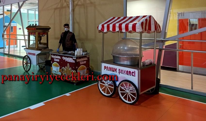 İstanbul Pamuk Şeker Arabası Kiralama Hizmeti
