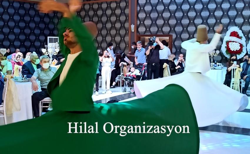 semazen ekibi islami düğün cemiyeti