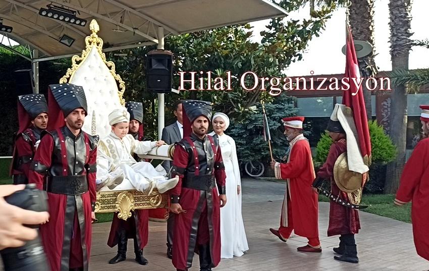 Sünnet düğünü taht yeniçeri askeri kiralama